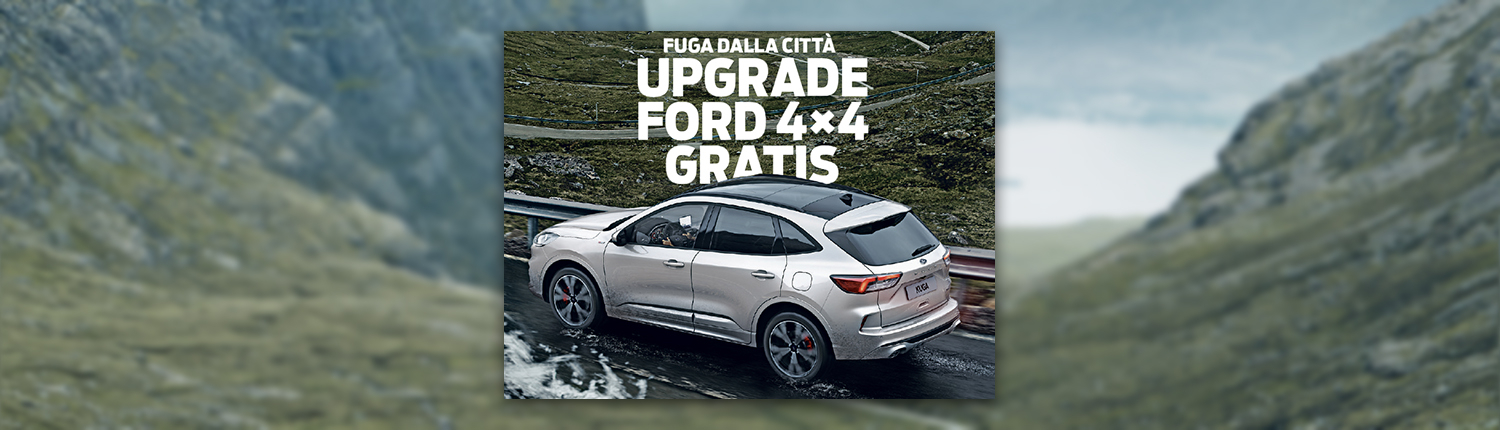 Ford upgrade 4x4 gratis